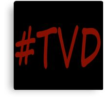 #TVD - The Vampire Diaries - (Designs4You) Canvas Print