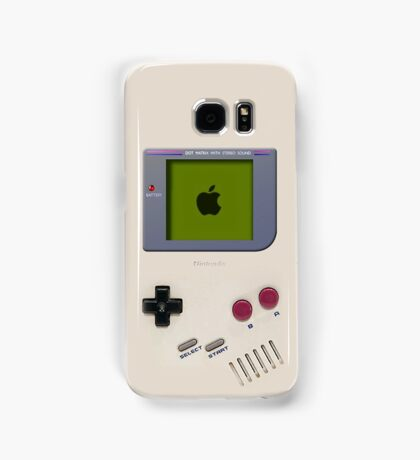 Classic old vintage Retro white milk gameboy gamewatch Samsung Galaxy Case/Skin