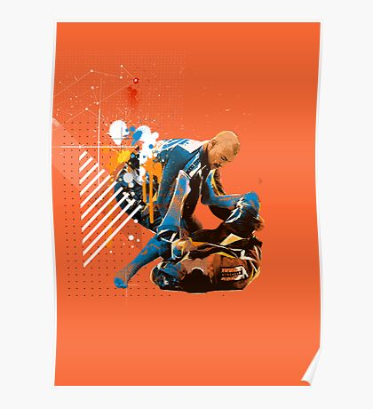 AUSTRALIAN CHAMPIONS CUP JIU JITSU POSTER  Poster