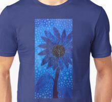 Cool Blue Flower Unisex T-Shirt