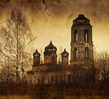 Destroyed church  by Julia Shepeleva