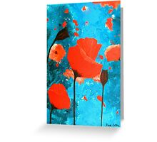 Poppy Paradise Greeting Card