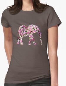 Nature Abstract Pink Flower Art T-Shirt