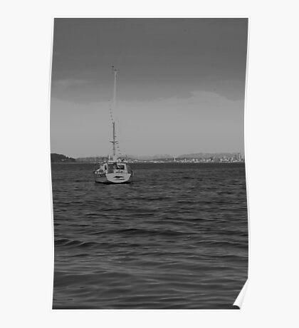 Seattle Horizon  Poster