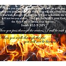 Fire and Water, I will be there! by Catherine Davis