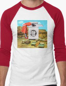 Watching machine Men's Baseball ¾ T-Shirt