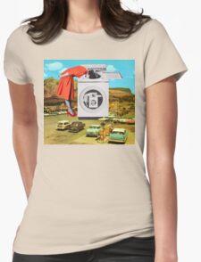 Watching machine Womens Fitted T-Shirt