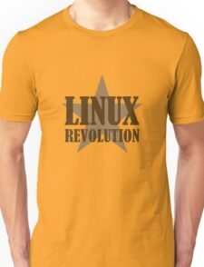 Linux Revolution Large Unisex T-Shirt