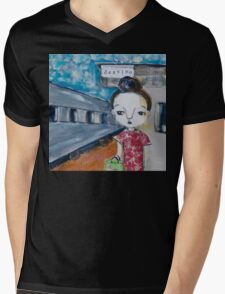 Have Bun - Will Travel Mens V-Neck T-Shirt