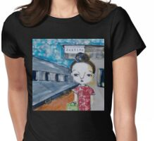 Have Bun - Will Travel Womens Fitted T-Shirt