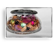 The perfum Jar Canvas Print