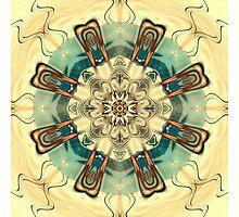 Fractal mandala of Spirituality Photographic Print