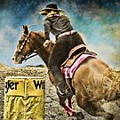 Running the Cans - Holly & Kakadu by WesternArt