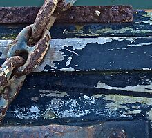 Old Anchor Chain by Scott Johnson