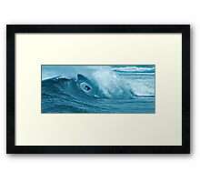 In the Tube Framed Print