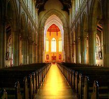 Sacred Heart Cathedral, Bendigo by Christine Smith
