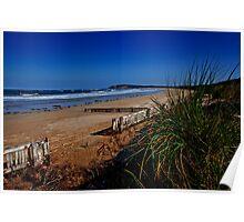 Raafs Beach - Ocean Grove Poster