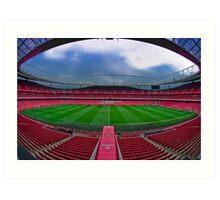 Emirates Stadium Art Print