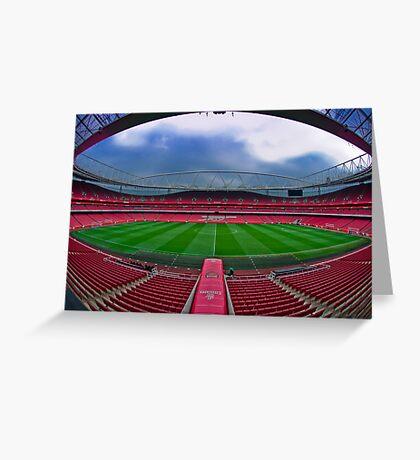 Emirates Stadium Greeting Card