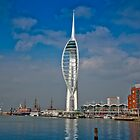 Spinnaker Tower, Portsmouth by Phillip Hardy