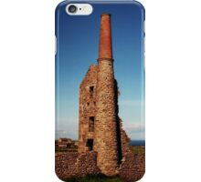 Remains of old Tin Mine, Cornwall.........! iPhone Case/Skin