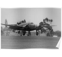 Wartime Landing Poster