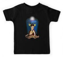 Time and Space Traveller with Banana Kids Tee