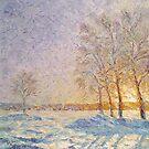 March / 2011 / oil on canvas by Ivan KRUTOYAROV