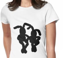 """Black Bunnies"" Clothing Womens Fitted T-Shirt"