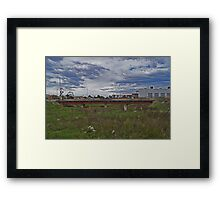 Urban river Framed Print