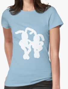 """White Bunnies"" Clothing T-Shirt"
