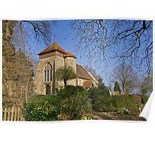 Church of St.Michael, Penhurst, East Sussex Poster