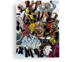 Dancing To The Tune Canvas Print