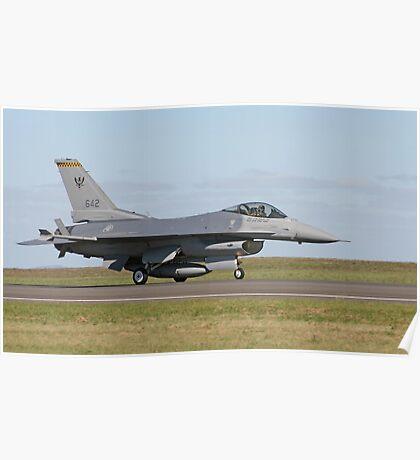 Singapore F-16 Poster