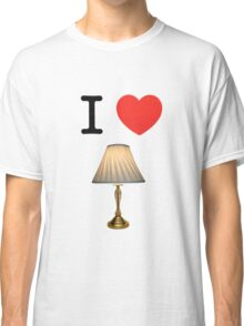 I LOVE LAMP Classic T-Shirt