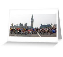 Tour of Britain Greeting Card