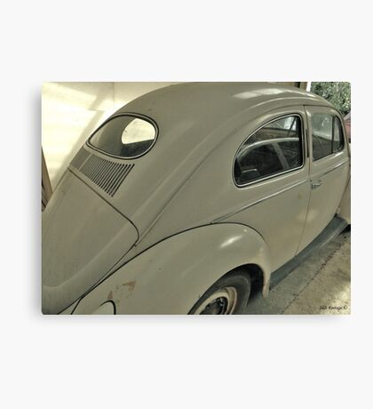 Reflections of a VW Canvas Print
