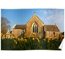 Tyneham Church Poster