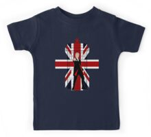 Union Jack British Flag with 12th Doctor Kids Tee