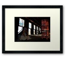 Ghost Shearer!  Framed Print
