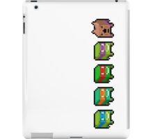 Pixel turtles iPad Case/Skin