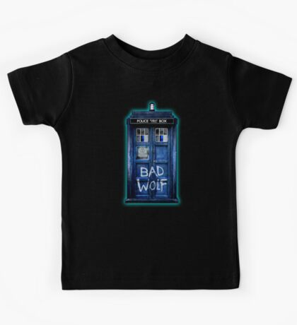 Space And Time traveller Wolf Kids Tee