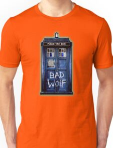 Space And Time traveller Wolf Unisex T-Shirt