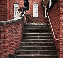 Dylan Tomlinson, fs 50-50 by Luke Carl Thompson