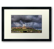 Mdina - the Ancient Capital of Malta  Framed Print