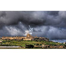 Mdina - the Ancient Capital of Malta  Photographic Print