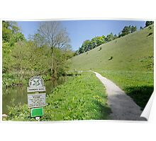 Fishpond Bank at Wolfscote Dale Poster