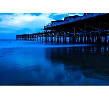 Crystal Pier Photographic Print