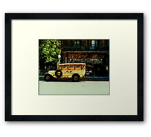 Traveling Back to the Union Hotel  Framed Print