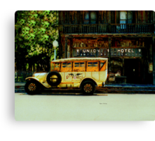 Traveling Back to the Union Hotel  Canvas Print